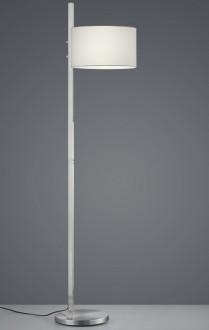 Regulowana lampa podłogowa z abażurem Arcor