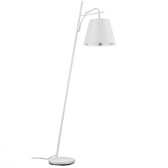 Lampa podłogowa z wiszącym kloszem Andreus