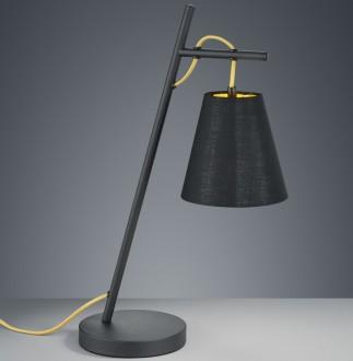 Lampa stołowa na jednej nodze z wiszącym kloszem Andreus