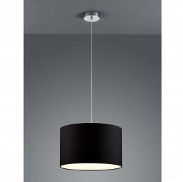 Wisząca lampa z czarnym abażurem w stylu klasycznym Hotel