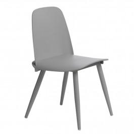 Krzesło z siedziskiem z tworzywa Rosse