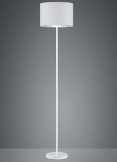 Prosta lampa podłogowa na jednej nodze Hostel