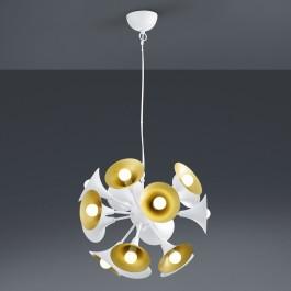 Wisząca lampa wieloczęściowa w stylu designerskim Orchestra