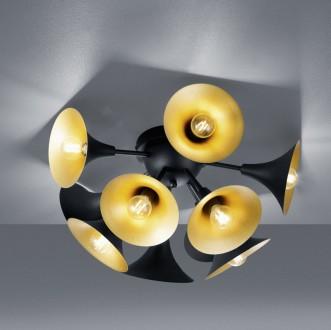 Sufitowa lampa wieloczęściowa w stylu designerskim Orchestra