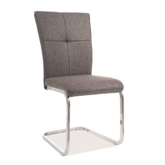 Tapicerowane krzesło na płozach H-190