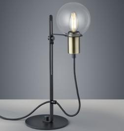 Industrialna lampka stołowa z regulacją wysokości Nacho