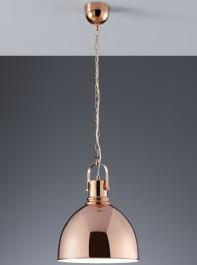Loftowa lampa wisząca w kolorze miedzianym Jasper