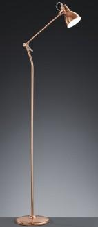 Loftowa lampa podłogowa w kolorze miedzianym Jasper