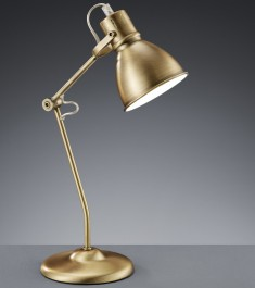 Loftowa lampa biurkowa z metalu Jasper