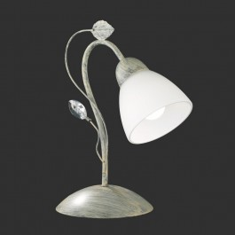 Ozdobna lampa stołowa w stylu glamour Traditio