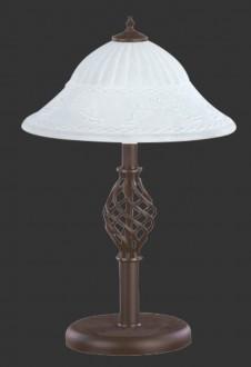 Ozdobna lampka stojąca w stylu klasycznym Rustica