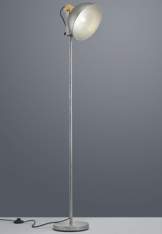 Rustykalna lampa podłogowa na jednej nodze Delhi