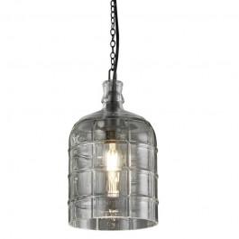 Loftowa lampa wisząca ze szklanym kloszem Astrid