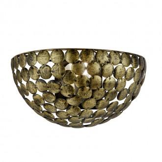 Przylegający kinkiet z okrągłymi dekorami metalowymi Frieda patyna