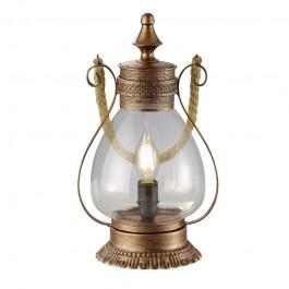 Dekoracyjna lampka stołowa w formie lampionu Linda