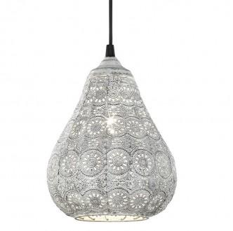 Orientalna lampa wisząca z dekoracyjnym kloszem Jasmin