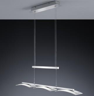Ledowa lampa do jadalni z regulowaną wysokością Stakkato