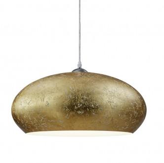 Wisząca lampa ze złotym kloszem owalnym Ottawa