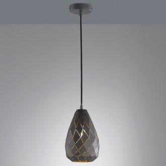 Wisząca lampa dekoracyjna Onyx z kloszem w formie kropli