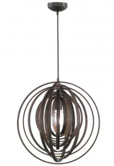 Designerska lampa wisząca z drewna bambusowego Boolan