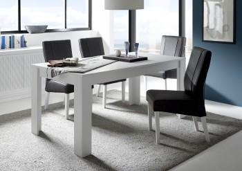 Nierozkładany stół do jadalni Paradise 180 w kolorze białym