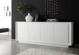 Szeroka komoda Paradise 4 w kolorze białym