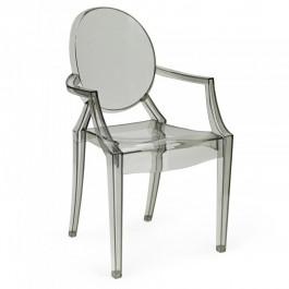 Krzesło Louis Ghost dymione