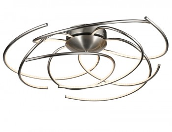 Designerska lampa ledowa Salina ze ściemniaczem