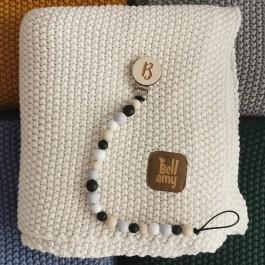 Bawełniany kocyk dla dziecka o ryżowym splocie Coctail Party
