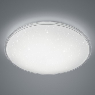 Okrągły plafon w kolorze białym Condor z funkcją ściemniania