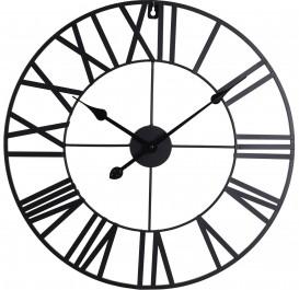 Loftowy zegar na ścianę z cyframi rzymskimi Londyn