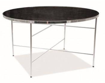 Okrągły stolik Ibiza B chromowany