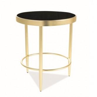 Złoty stolik pomocniczy Mystic C