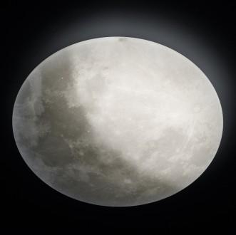 Designerski plafon regulowany Lunar w formie księżyca