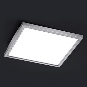 Kwadratowa lampa sufitowa LED z metalową podstawą Future 30