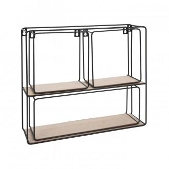 Zestaw półek ściennych w stylu loft Links Box