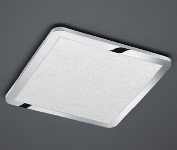 Chromowany plafon sufitowy LED kwadratowy Cesar 60