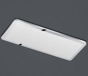 Chromowany plafon sufitowy LED prostokątny Cesar