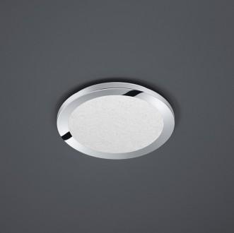 Chromowany plafon sufitowy LED okrągły Cesar 26