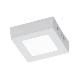 Biała lampa sufitowa plafon LED Zeus 12