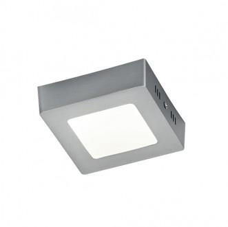 Lampa sufitowa plafon LED Zeus 12 nikiel mat