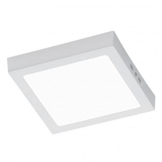 Duży plafon kwadratowy LED Zeus 22 biały