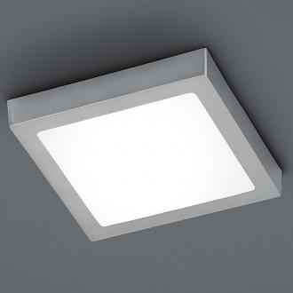 Plafon kwadratowy LED Zeus 40 nikiel mat ze ściemniaczem