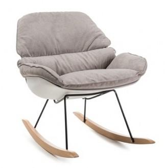 Designerski fotel bujany Alzano