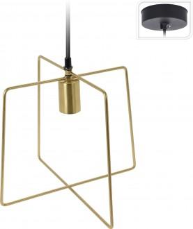 Lampa wisząca z metalu Gemo