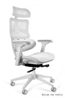 Ergonomiczny fotel do biura z regulacjami Ergotech biały