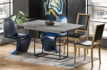 Loftowy stół z rozkładanym blatem Gani 170