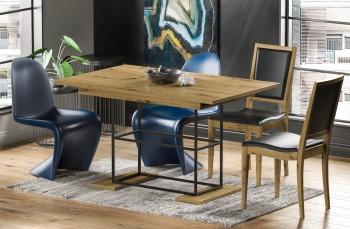 Loftowy stół z rozkładanym blatem Gani 210