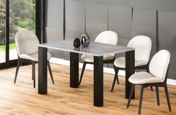 Stół Juka 125 z blatem 80x80 rozkładany do 125 cm