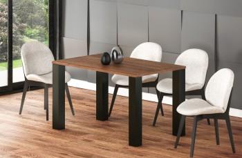 Rozkładany stół do jadalni na czterech nogach Juka 220